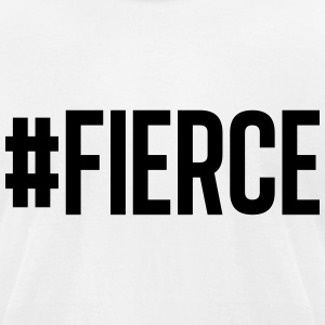 #Fierce white - Men's T-Shirt by American Apparel