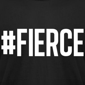 #Fierce black - Men's T-Shirt by American Apparel