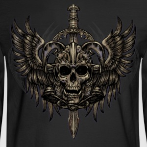 Crest of Grindmar - Men's Long Sleeve T-Shirt