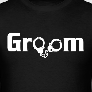 Groom Mens Funny Tshirt - Men's T-Shirt