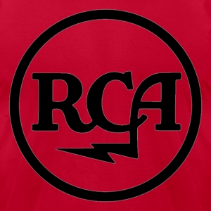 RCA radio - Men's T-Shirt by American Apparel