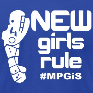 Most Popular Girls New Girls Rule T-Shirts - Men's T-Shirt by American Apparel