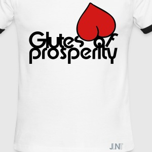 Glutes Of Prosperity T-Shirts - Men's Ringer T-Shirt