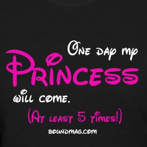 Lezzie Princess - Women's T-Shirt