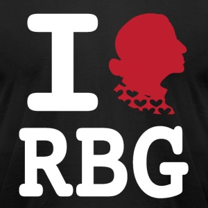 RBG Tee (American Apparel) - Men's T-Shirt by American Apparel