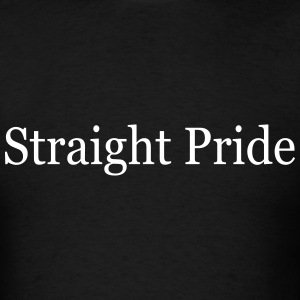 Straight Pride T-Shirt - Men's T-Shirt
