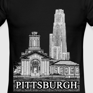 Pittsburgh T-shirt - Men's Ringer T-Shirt