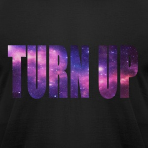 Turn Up Galaxy Tee - Men's T-Shirt by American Apparel