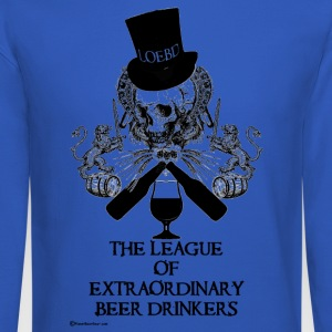 The League of Extraordinary Beer Drinkers Skull To - Crewneck Sweatshirt