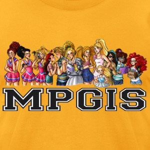 Most Popular Girls MPGIS T-Shirts - Men's T-Shirt by American Apparel