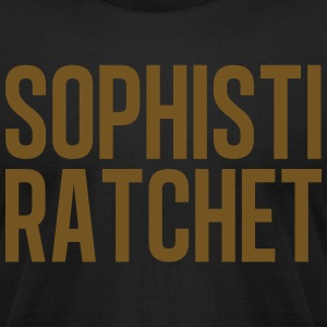 Ratchet Glitter Gold - Men's T-Shirt by American Apparel