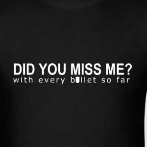 Missed You - Men's T-Shirt