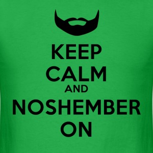 Dude's Noshember Keep Clam Shirt - Men's T-Shirt