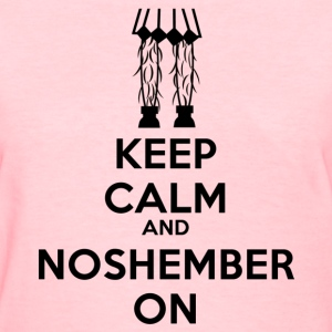 Noshember.com Keep Clam Shirt - womens - Women's T-Shirt