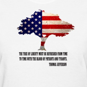 Tree of Liberty  - Women's T-Shirt