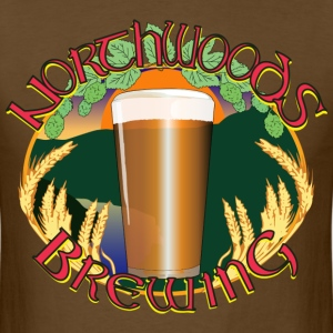 Northwoods Brewing - Men's T-Shirt