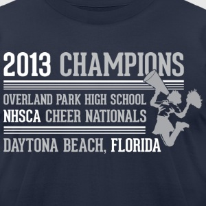 Most Popular Girls 2013 Champions light T-Shirts - Men's T-Shirt by American Apparel