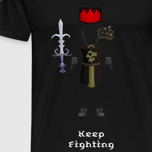 Runescape Themed T-Shirt - Men's Premium T-Shirt