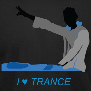 I Love Trance - Men's T-Shirt by American Apparel