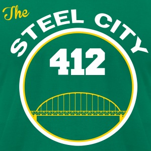 Steel City T-Shirts - Men's T-Shirt by American Apparel