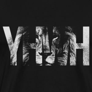 YHWH Lion - Men's Premium T-Shirt