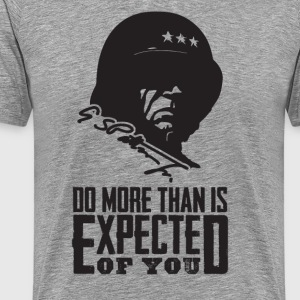 Patton: Expectations - Men's Premium T-Shirt