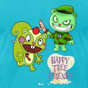 Happy Tree Friends - Men's T-Shirt by American Apparel