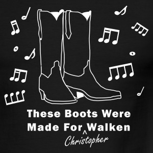 These Boots Were Made For (Christopher) Walken - Men's Ringer T-Shirt