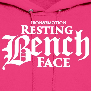RESTING BENCH FACE - Women's Hoodie