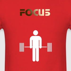 FOCU5 Deadlift - Men's T-Shirt