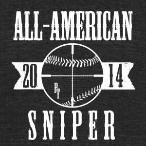 Sniper! - Unisex Tri-Blend T-Shirt by American Apparel
