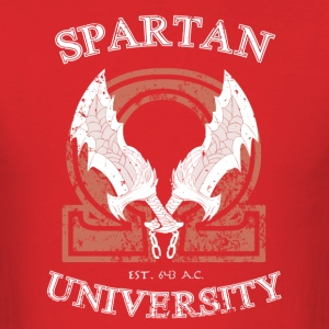 Spartan University - Men's T-Shirt