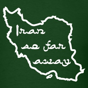 Iran So Far Away - Men's T-Shirt