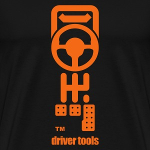 Driver Tools (black/gry) - Men's Premium T-Shirt