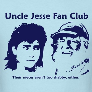 Uncle Jesse - Blue - Men's T-Shirt