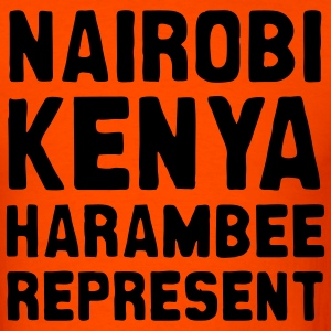 Orange Nairobi Kenya represent Men - Men's T-Shirt