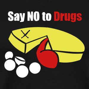 PacMan - Don't do Drugs - Men's Premium T-Shirt