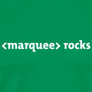 Marquee rocks - Men's Premium T-Shirt