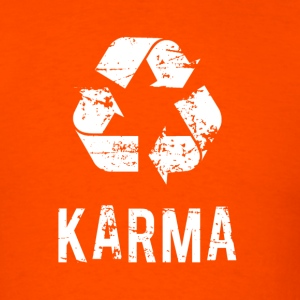 Karma Comes Back - Men's T-Shirt