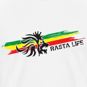 Natural rasta life T-Shirts - Men's Premium T-Shirt