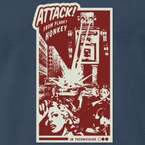 Attack From Planet Honkey - Men's Premium T-Shirt
