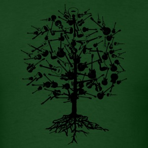 Guitars Tree T-Shirt - Men's T-Shirt