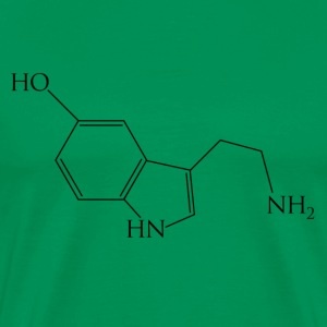 Serotonin - Men's Premium T-Shirt