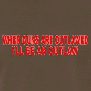 Men's Outlaw tee - Men's Premium T-Shirt