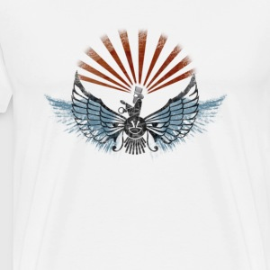 Winged God - Men's Premium T-Shirt