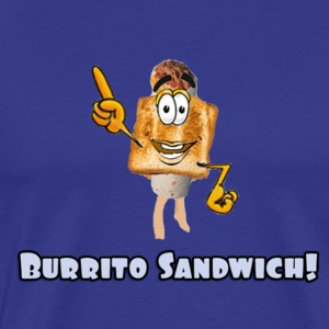 Burrito Sandwich - Men's Premium T-Shirt