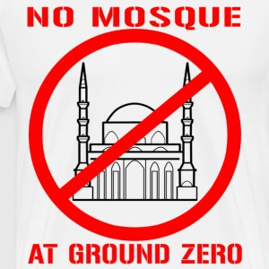Mo Mosque at Ground Zero - Men's Premium T-Shirt