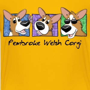 Three Cool Corgis Child's TShirt - Kids' Premium T-Shirt