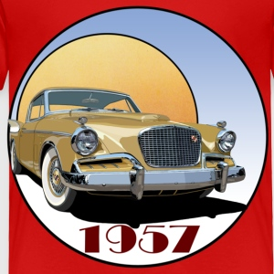 1957 Studebaker Golden Hawk - Toddler Premium T-Shirt