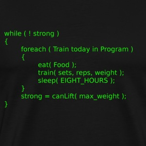 Geek Workout - Men's Premium T-Shirt